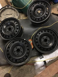 "5 x 120mm or 5 x 4.75"" black 17"" rims East Gwillimbury, L0G 1V0"