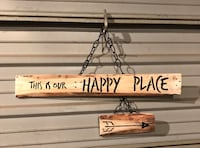"""""""Happy Place"""" Sign Sioux Falls, 57103"""