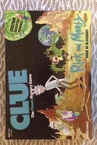 Rick and Morty Clue Moncton, E1G 1G3