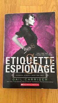 Etiquette & Espionage Book
