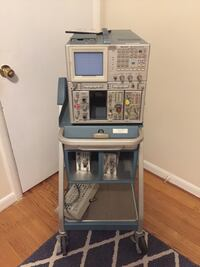 Vintage Tektronix Oscilloscope with Plugins:  [TL_HIDDEN] 7, 7A26. Also includes stand and keyboard Springfield, 22151