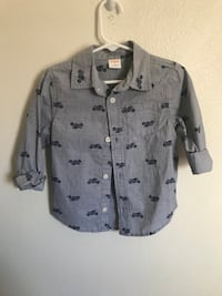 gray and black button-up shirt Cypress, 90630