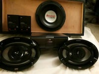black and gray Pioneer subwoofer speaker Placentia, 92870