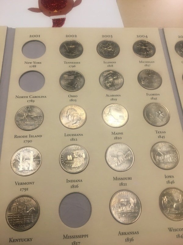 Coins state commemorative quarters  2