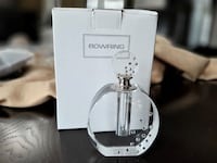 NEW in Box Bowring Clear Cut Marilyn Perfume Bottle, Ciara Collection Oakville