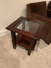 Crate and Barrel side table Bethesda, 20816