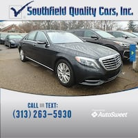 2015 Mercedes-Benz S 550 S 550 Detroit