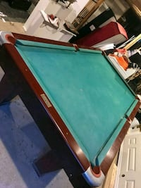 blue and brown pool table Springfield, 22150