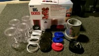 Big Boss Mulit Blender 15pc Set Winnipeg, R2N 1J2
