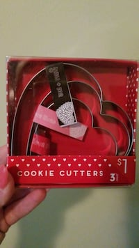 3 Heart Cookie Cutters Inver Grove Heights, 55076