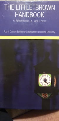 College level English textbook (101/102) Denham Springs, 70726
