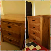 Chest of Drawers and 2 Nightstands  Silver Spring, 20910