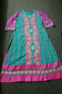 women's multicolored dress Toronto, M6S 3J4