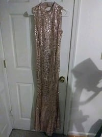 Gold dress/ and a black /white dress size 3 Capitol Heights, 20743