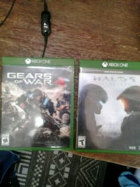 two Xbox One game cases Kansas City, 64108