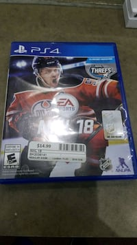 NHL 18 for PS4 Whitby, L1P