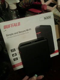 Buffalo simple and secure Wi-Fi router box