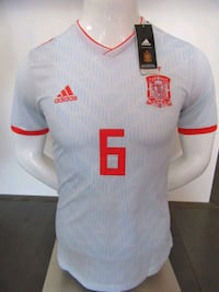 Selling a brand new in tags Spain Jerseys   $25 Mississauga, L5B 4M7