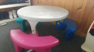 Childrens Fisher Price/ Little Tykes table