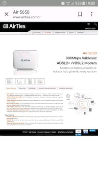 Modem Airties air5650