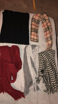 Fall/ winter warm wool and cashmere scarf  569 km