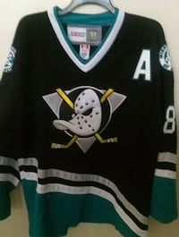black and teal ice hockey jersey top Garden Grove, 92840