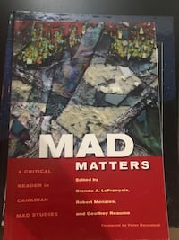 Mad Matters Book