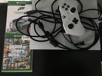 white Xbox One console with controller and game case Oklahoma City, 73108