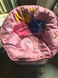baby's pink and white bouncer Calgary, T2J 4A7