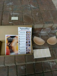 Brand new.Natural Bra.silicon breast cups. Fort Myers, 33908
