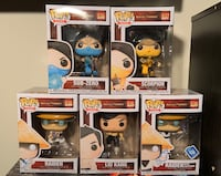 Funko Pops Mortal Kombat Set Farmingdale, 11735