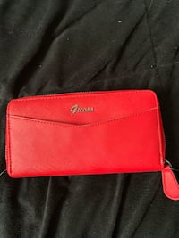 women's red leather Coach wallet Toronto, M9N