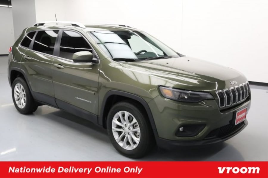 2019 Jeep Cherokee Olive Green Pearlcoat hatchback 71a55381-8c8b-47b0-bc3a-4e0427fc9192