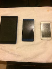 black Android smartphone with two cases Garden Grove, 92843