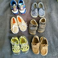 Lot of baby boy shoes Fullerton, 92831