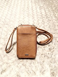 "New! Relic crossbody wallet paid $30 Faux leather. Zip closure. 5½"" wrist strap. Removable 26"" drop shoulder strap. Front snap closure phone pocket. Back slip pocket. Fabric lining: paper money slip, zip pocket, 6 card slots, 1 hidden card slot, 1 clear i Washington, 20002"