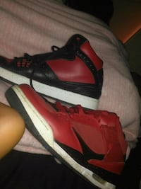 2395004d6 Used red-and-black Air Jordan basketball shoes for sale in Denton ...