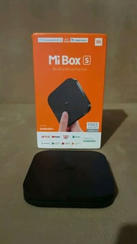 Xiaomi mi box S  4k UHD tv box