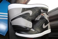 pair of black-and-white Nike basketball shoes Pineville, 28134