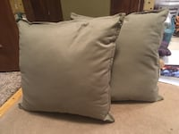 Olive green throw pillows  Dupont, 18641