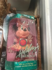 1991 rare holiday Minnie Mouse doll  Frederick, 21703