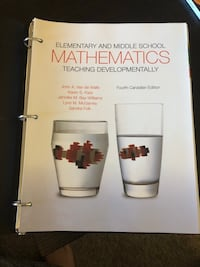 Elementary And Middle School Mathematics (4th Canadian Ed) Hamilton, L9G 0G7