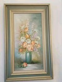 Floral oil painting  Madison