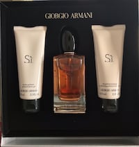 ARMANI Si  Set Women's ($159 Value) Boston