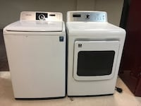 SAMSUNG VRT WASHER AND ELECTRIC DRYER