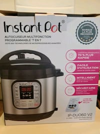 INSTA POT 7 IN 1 MULTIUSE PRESSURE COOKER Herndon, 20171