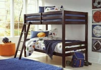 Wooden bunk bed with mattresses Brockport, 14420