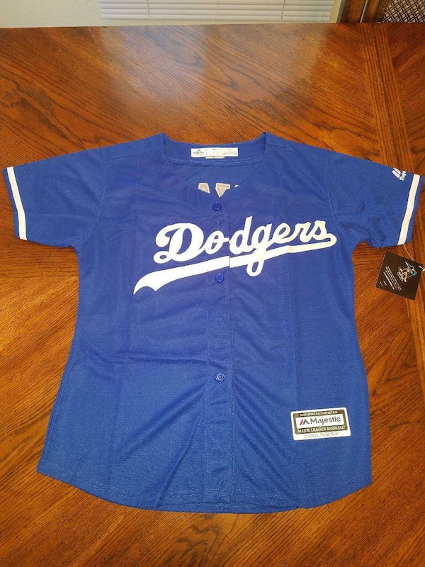 WOMEN'S or KIDS DODGER JERSEYS 100% stitched