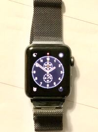 Apple Watch Series 3 38 mm (this watch was lightly used for 4 months. No scratches and great battery life.) Manassas, 20110