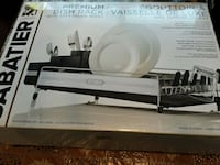 dish rack Stainless steel box good condition Hamilton, L8W 1E7